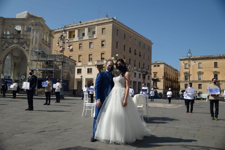 """Confcommercio Lecce organizza il flash mob """"Insieme per il wedding"""""""