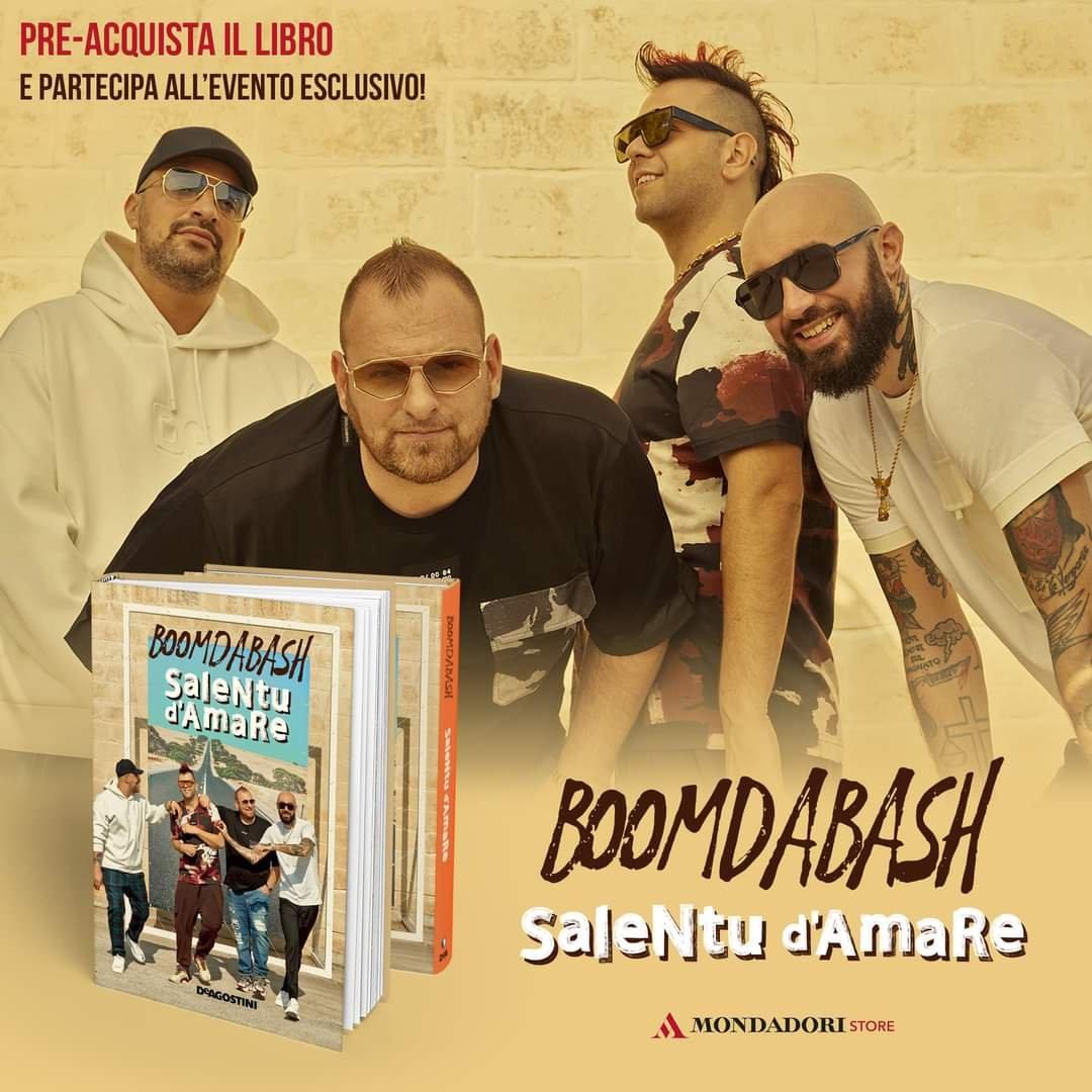 """Salentu d'amare"" i Boomdabash incontrano i fan"