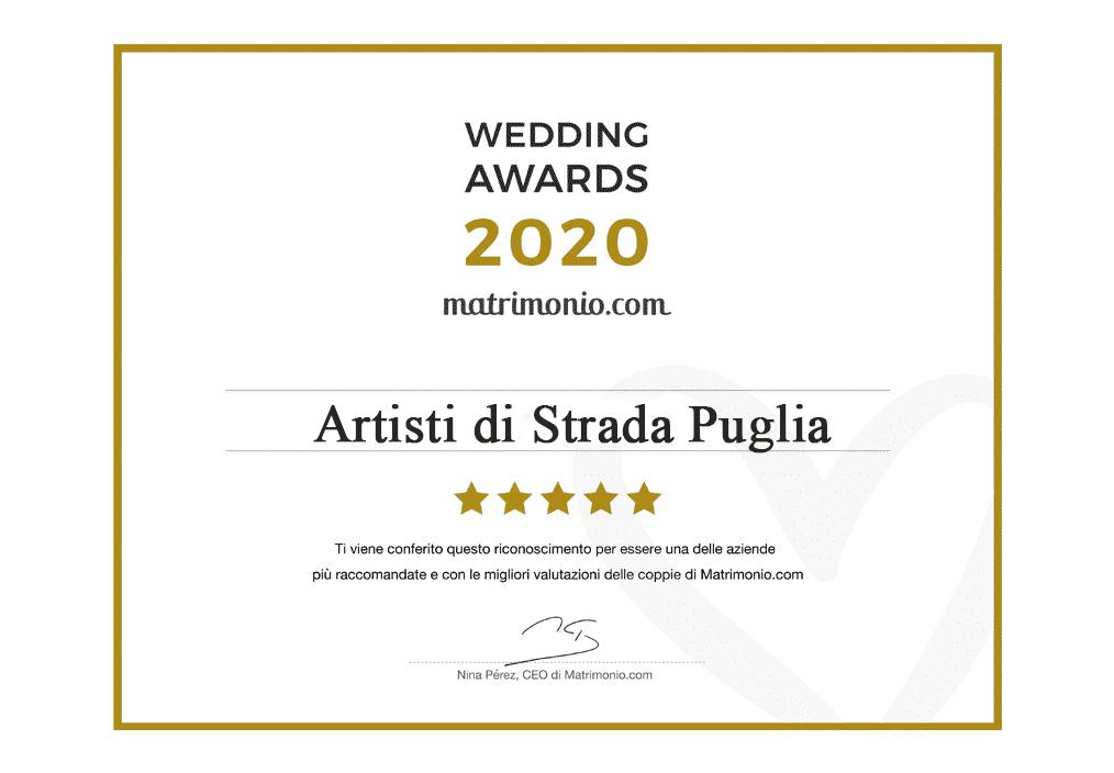 Artisti di strada Matrimonio