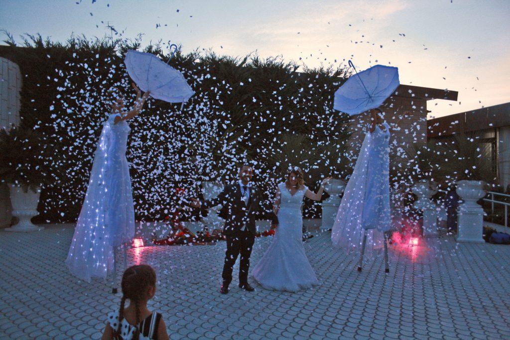 Farfalle luminose Lecce Alidiamanti