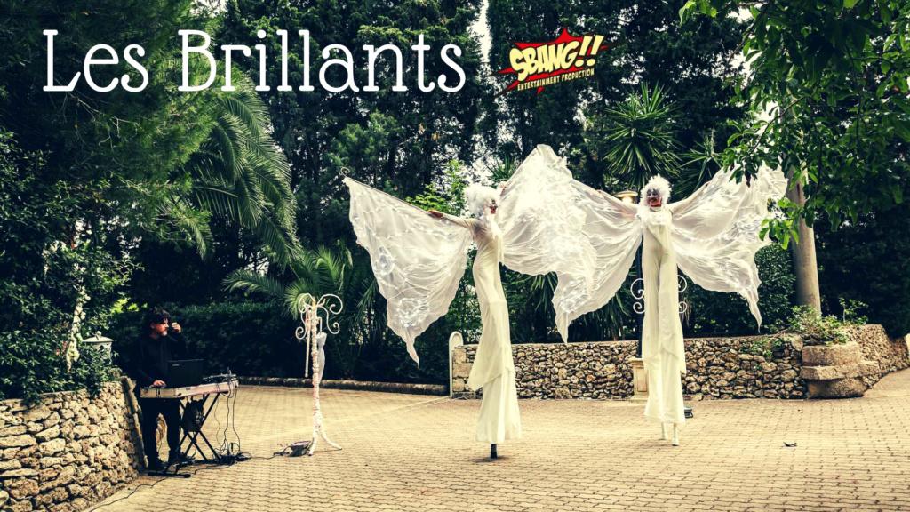 Les Brillants - Farfalle luminose