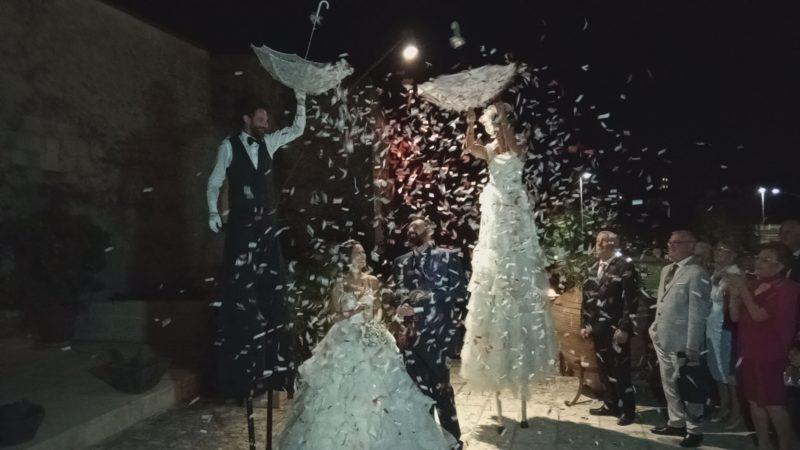Trampolieri accoglienza Matrimonio