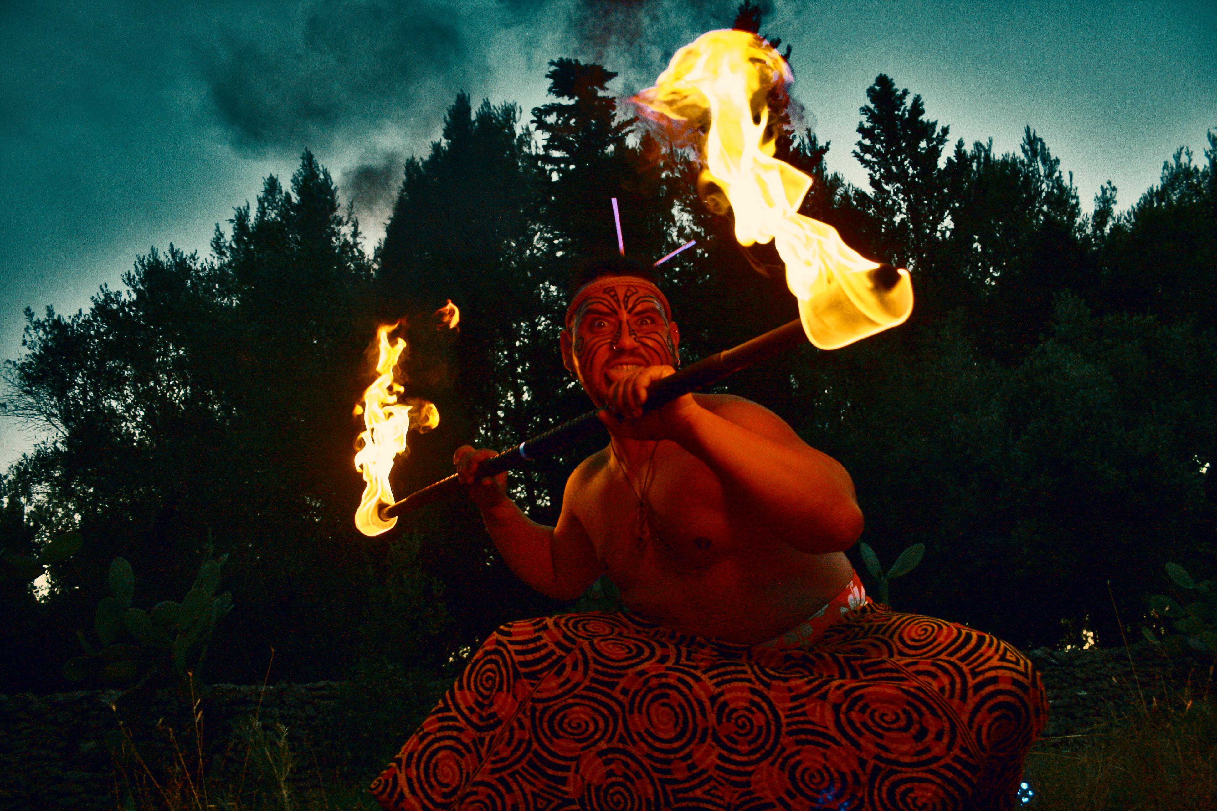 Maori Fachiro Sputafuoco