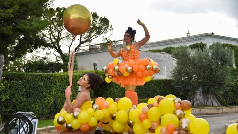 Stiltwalker e balloon-art