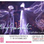 Lady Margara bubble show ad ApuliaSposi 2021